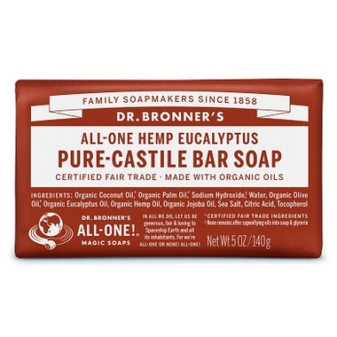 Dr. Bronner\'s Pure Castile Bar Soap