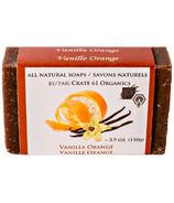 Crate 61 Organics Vanilla Orange Soap