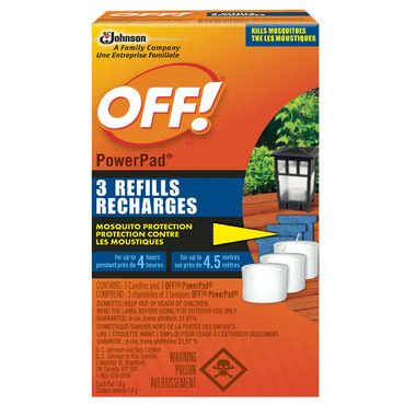 OFF! PowerPad Lamp Refills