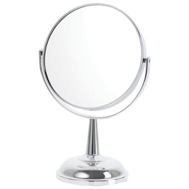 Danielle Creations Small Decorative Base Chrome Mirror