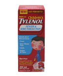 Children's Tylenol Fever & Sore Throat Pain Suspension Liquid