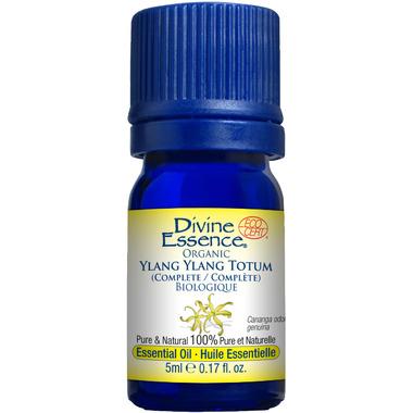 Divine Essence Ylang Ylang Totum Organic Essential Oil