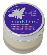 Routine De-Odor-Cream Natural Deodorant in Blackberry Betty Farm Scent