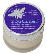 Routine De-Odor-Cream Natural Deodorant in Blackberry Betty Farm Scent