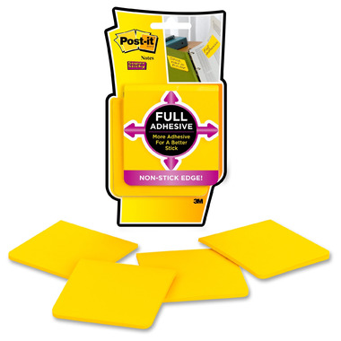 Post-it Super Sticky Full Adhesive Notes