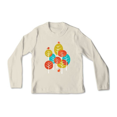All Good Living Kids One 2 Trees Long Sleeve T-Shirt