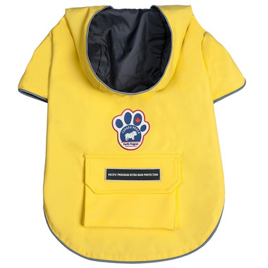 Canada Pooch Torrential Tracker Jacket Size 24 in Yellow