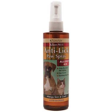 Naturvet Anti Lick Paw Spray