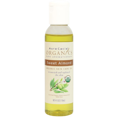 Aura Cacia Organic Sweet Almond Skin Care Oil