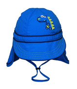 Calikids Quick-Dry Cap With Long Back Blue Astor