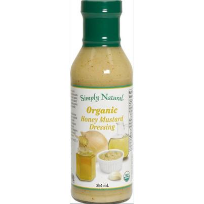 Simply natural organic salad dressing