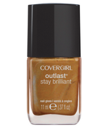 CoverGirl Outlast Stay Brilliant Nail Polish in Camel