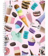 Iscream Sweet Tooth 3D Small Journal