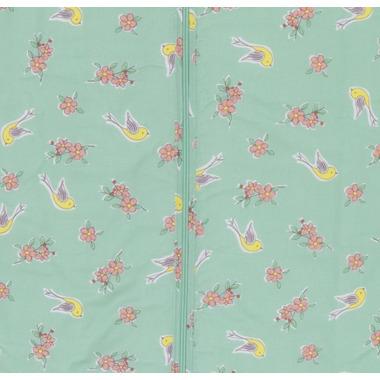 Grobag Travel Baby Sleep Bag 1.0 Tog Floral Flutter