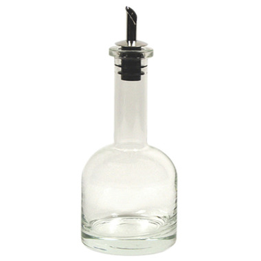 Long Neck Glass Drizzler Bottle