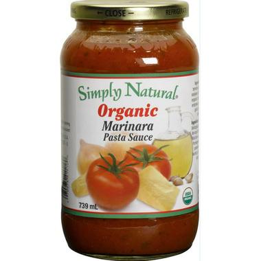Simply Natural Organic Marinara Pasta Sauce