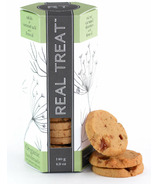 Real Treat Organic Salted Caramel Shorties with Fennel Cookies