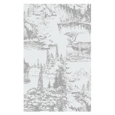 Harman Toile Reindeer Printed Guest Napkin