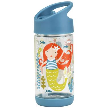 Sugarbooger Flip and Sip Clear Tritan Bottle Isla the Mermaid