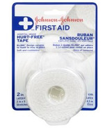 Johnson & Johnson First Aid Hurt-Free Cloth Tape