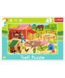 Trefl Puzzle Frame Farm