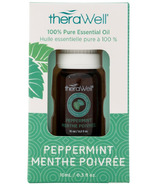 Therawell 100% Pure Peppermint Essential Oil