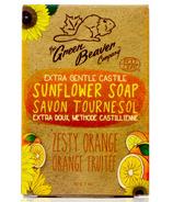 Green Beaver Extra Gentle Castile Sunflower Bar Soap