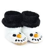 Little Blue House by Hatley Kids Slippers Snowman