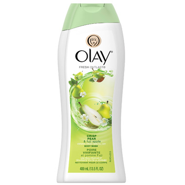 Olay Fresh Outlast Crisp Pear & Fuji Apple Body Wash