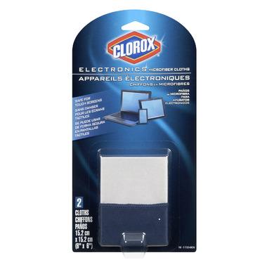 Clorox Electronics Microfiber Cloths