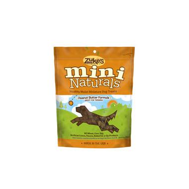 Zuke\'s Dog Mini Naturals Peanut Butter Formula