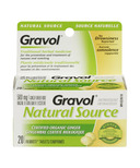 Gravol Natural Source Ginger Tablets