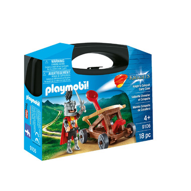 Playmobil Knight\'s Catapult Carry Case