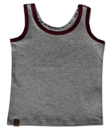 L&P Apparel Tank Top Grey & Burgundy
