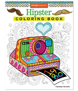 Fox Chapel Hipster Coloring Book