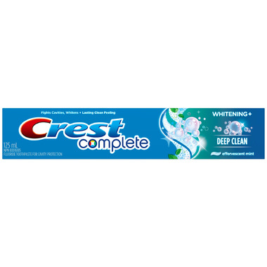 Crest Complete Extra White + Scope Dual-Blast Toothpaste