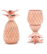 W&P Pineapple Shot Glass Set Copper