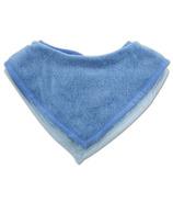 Bumkins Waterproof Terry Bandana Bib Blue