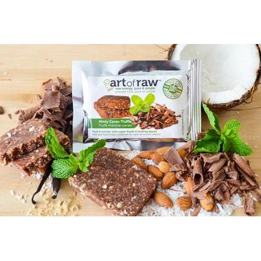 Art of Raw Minty Cacao Truffle Raw Bar