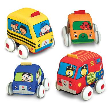Melissa & Doug K\'s Kids Pull-Back Vehicles
