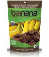Barnana Dark Chocolate Organic Chewy Banana Bites