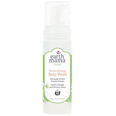 Earth Mama Organics Baby Sweet Orange Wash