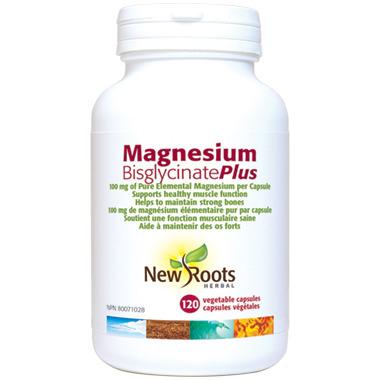 New Roots Herbal Magnesium Bisglycinate Plus