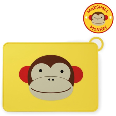 Skip Hop ZOO Fold & Go Placemat Monkey