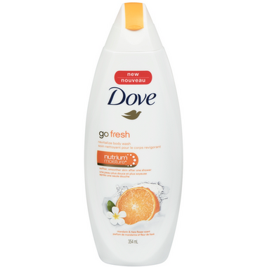 Dove Go Fresh with Mandarin and Tiare Flower Scent Body Wash