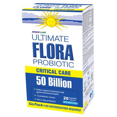 Renew Life Ultimate Flora Go Pack 50 Billion