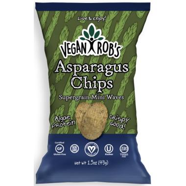 Vegan Rob\'s Asparagus Chips
