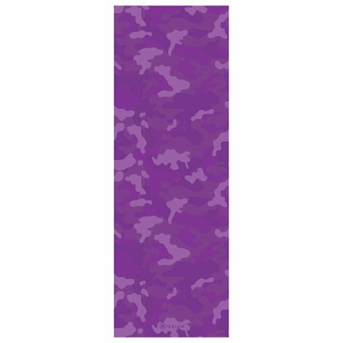 Gaiam Reversible Print Yoga Mat 3 mm Purple Camo & Medallion