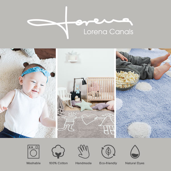 Lorena Canals Washable Rugs at Well.ca