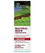 Desert Essence Natural Neem Toothpaste